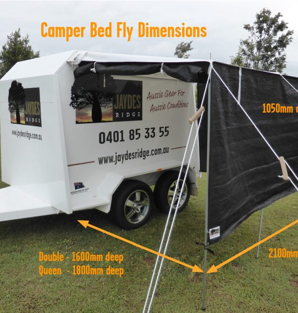 Camper Bed Fly Dimensions