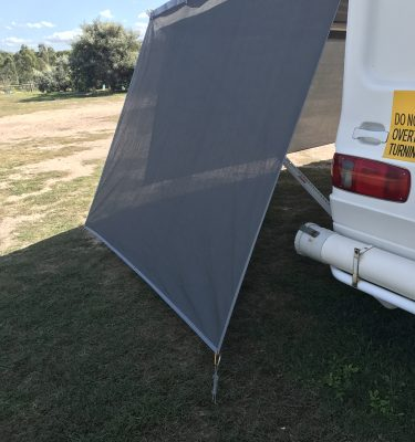 Jaydes Ridge Caravan Privacy Shade Side