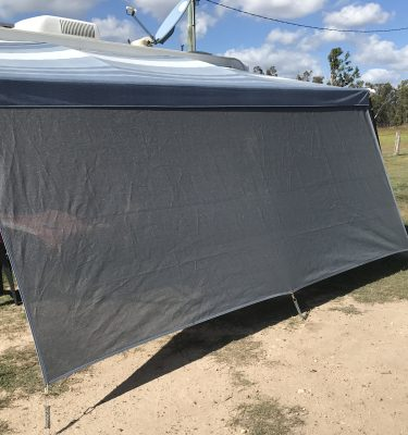 Jaydes Ridge  Caravan Front Privacy Shade