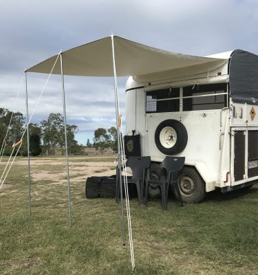 Jaydes Ridge Horse Float Awning
