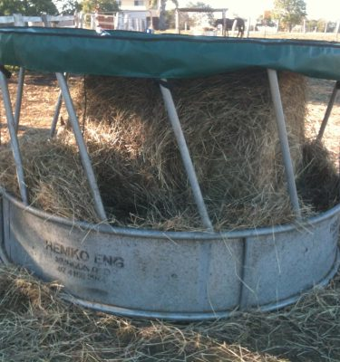 Jaydes Ridge Round Bale Feeder Cover