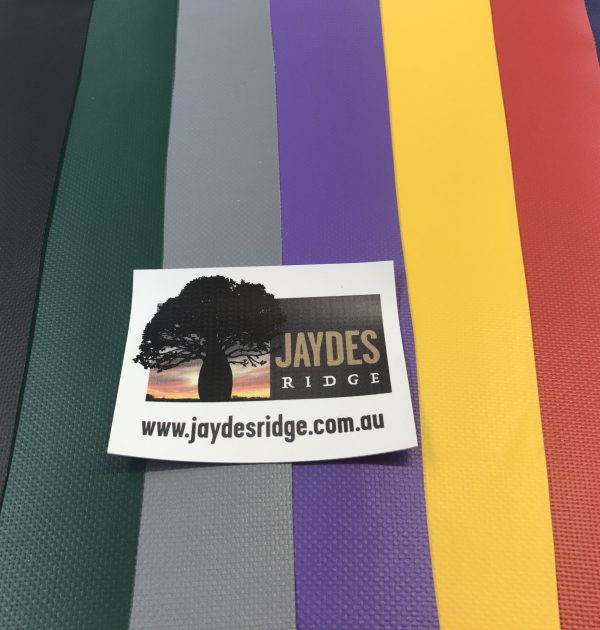 Jaydes Ridge PVC Colour Range