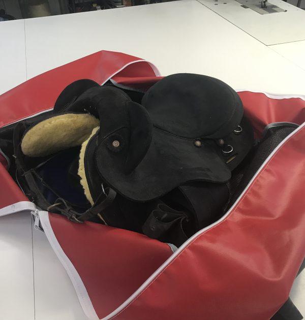 Jaydes Ridge fold flat saddle Bag