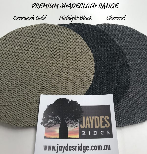 Jaydes Ridge Premium Shadecloth Range